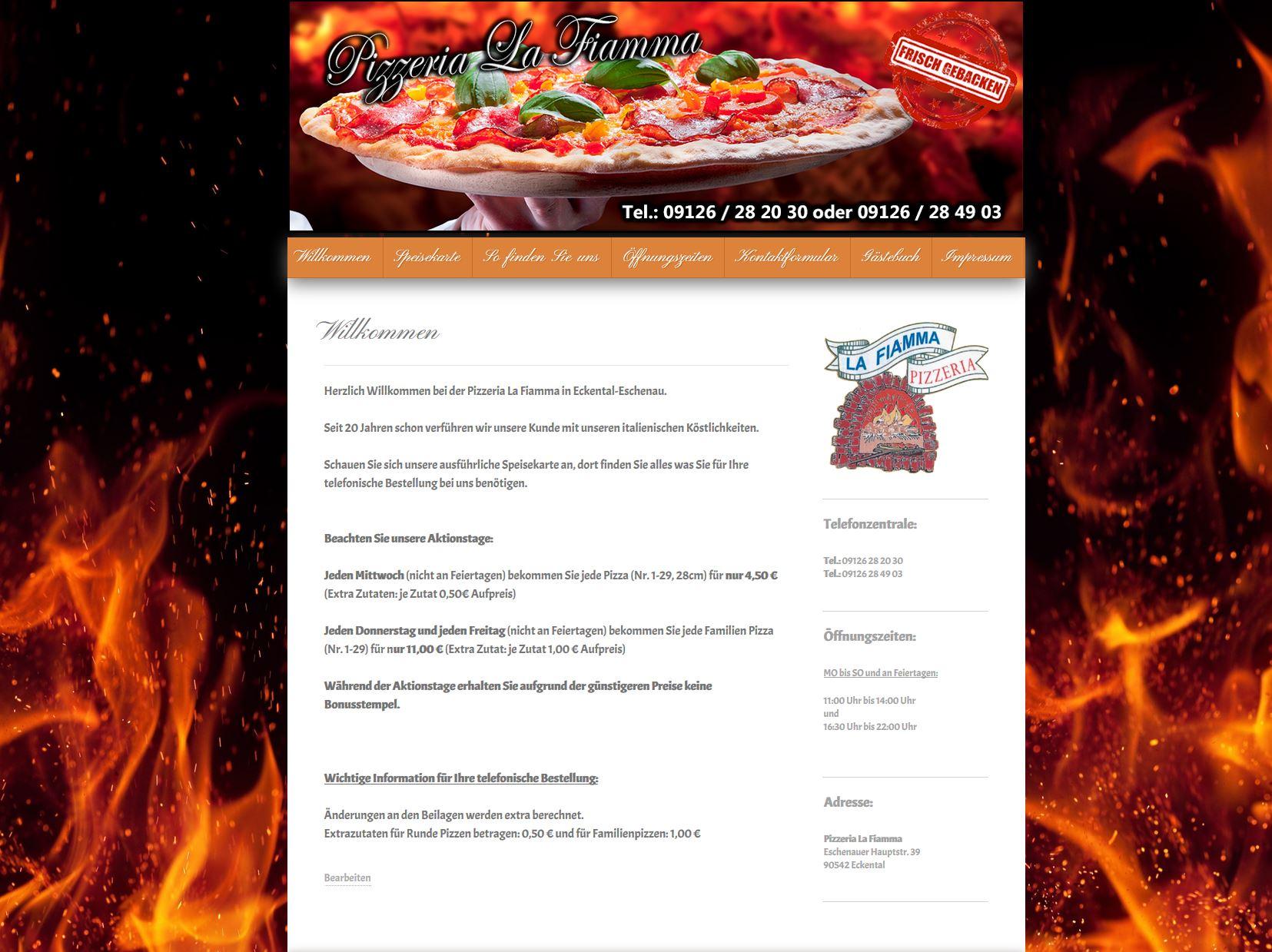 Pizzeria La-Fiamma